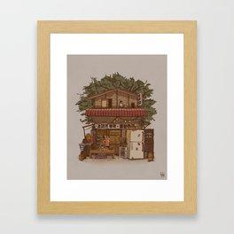 Suppertime Framed Art Print