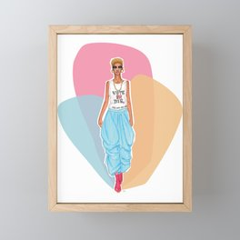 For Real This Time Framed Mini Art Print