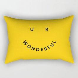 You are wonderful Rectangular Pillow