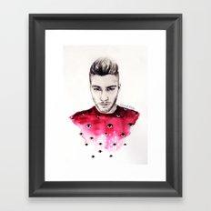 Eyes on Zayn  Framed Art Print
