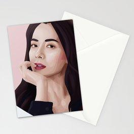 Song ji hyo Stationery Cards