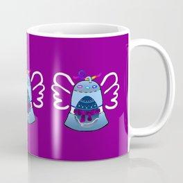 Bell on Purple Coffee Mug