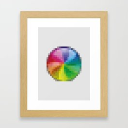 PAUSE – Disaster Framed Art Print