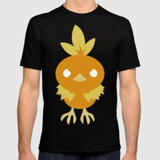 Torchic Mens Fitted Tee LARGE Black