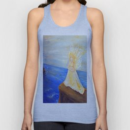 Invite your Angel | Angels are here Unisex Tank Top