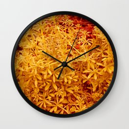 Nature is going abstract IV Wall Clock