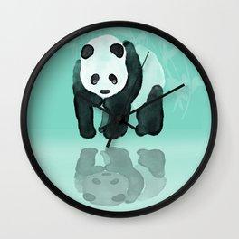Panda meets Panda Wall Clock