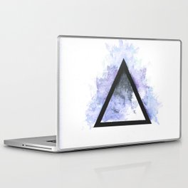 Abstract Triangle (Blue) Laptop & iPad Skin