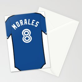 Kendrys Morales Jersey Stationery Cards