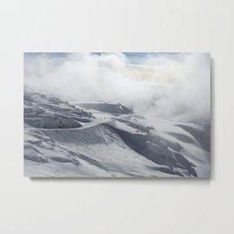 Whistler Peak Metal Print