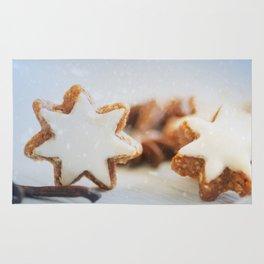Cinnamon Stars Backery Rug