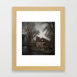 Montreal, Lachine Canal Framed Art Print