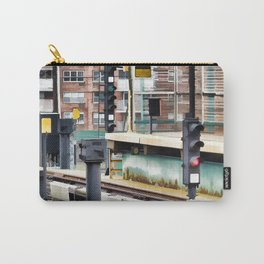 Railway station and semaphore Carry-All Pouch
