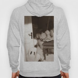Welcome To Our (Spooky) Home Sepia Hoody