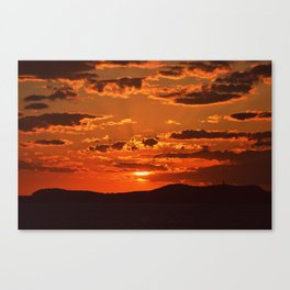 Ibiza Sunset Canvas Print