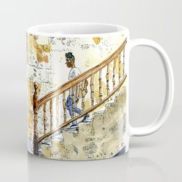 Woman Enjoying the Sun - Castillo de la Real Fuerza, Habana Vieja, Cuba Coffee Mug