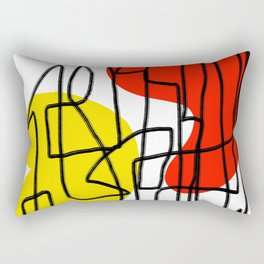 Come Out And Rectangular Pillow
