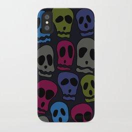 Skulls-3 iPhone Case