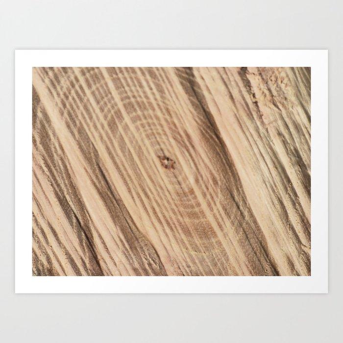 Wood Grain Print Rug: Wood Grain Art Print By Danschwent