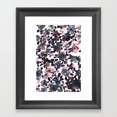 Sophia Floral Dusty Pink Framed Art Print