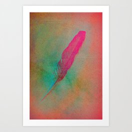 Dream Feather Art Print