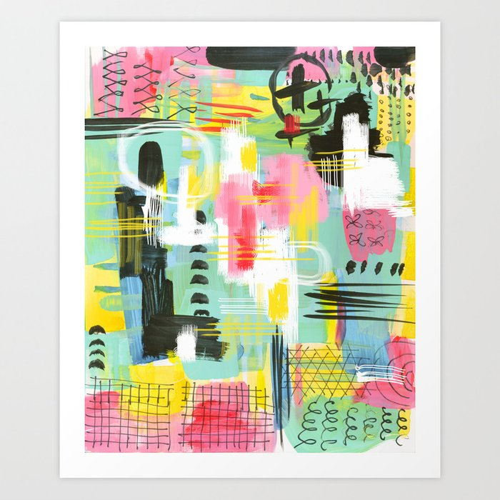 Cityskape Art Print