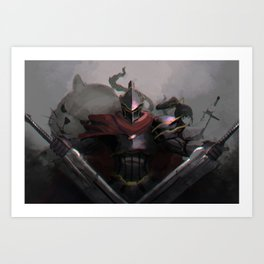 Overlord Momon Art Print