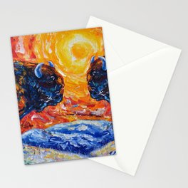 Wild The Storm Stationery Cards