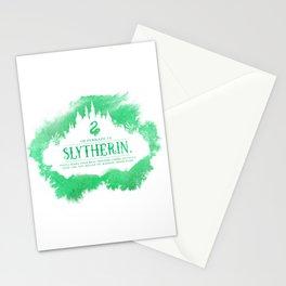 Slytherin Stationery Cards