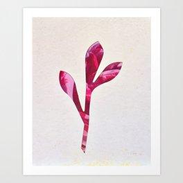 Leaf Projection Screen #4 [Cecilia Lee] Art Print