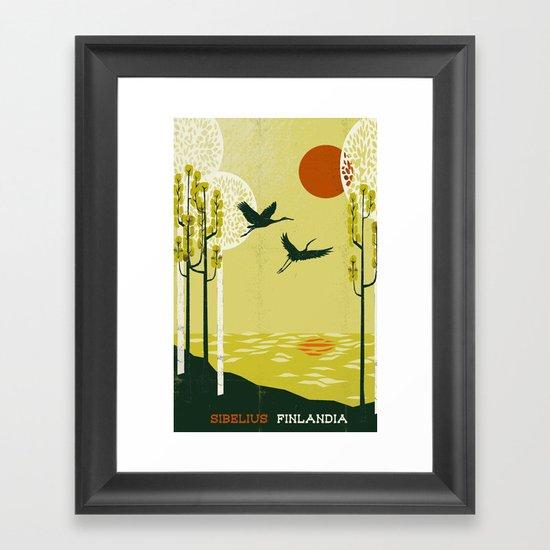 Finlandia - Sibelius Framed Art Print