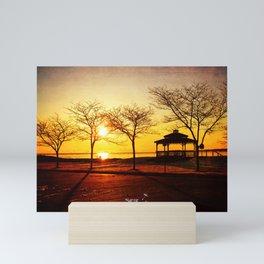 Sunrise on the Shore Mini Art Print