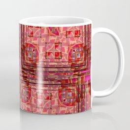 no. 197 orange pink pattern Coffee Mug