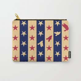 Stripes of Hope Carry-All Pouch