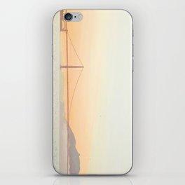 Pastel Golden Gate iPhone Skin