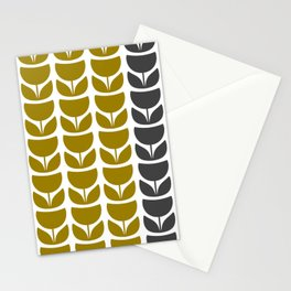 Retro Tulipa 1 Stationery Cards