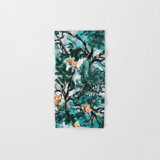 Natural Camouflage Hand & Bath Towel