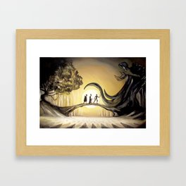 The Tale of the Three Brothers Framed Art Print