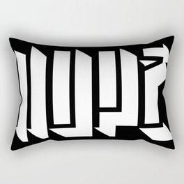 NOPE. #2 Rectangular Pillow