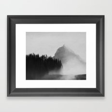Norwegian Wood Framed Art Print