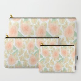Watercolor Flower Bud Carry-All Pouch