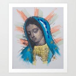 Mi Morenita Art Print