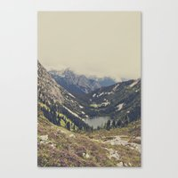 background Canvas Prints featuring Mountain Flowers by Kurt Rahn