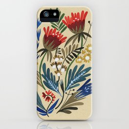 folkflower I iPhone Case