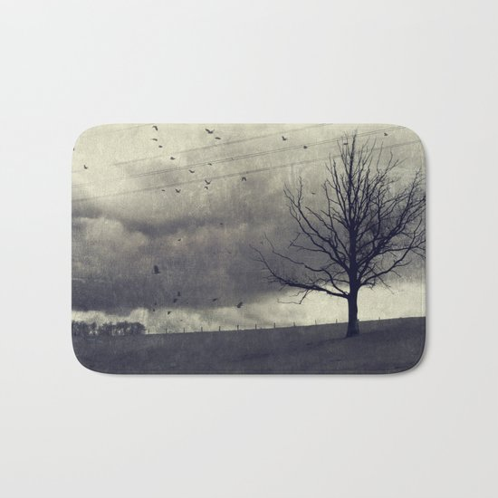 one of these days - autumn mood Bath Mat