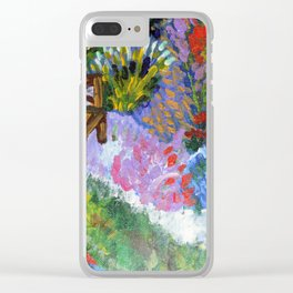 Garden of Joy/ Lady Wisdom Speaks! Clear iPhone Case