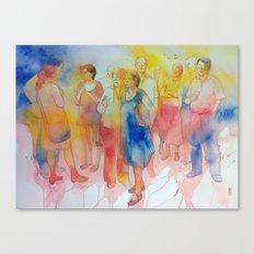 Tracce di umanità Canvas Print
