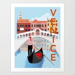 Venice Art Print Art Print