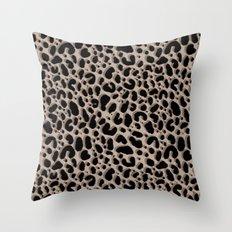 Leopard Ikat Throw Pillow