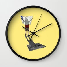 Lost Youth Wall Clock